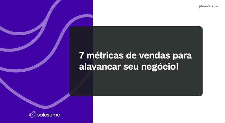 métricas de vendas
